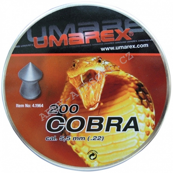 Diabolky Cobra 200ks cal.5,5mm - Umarex