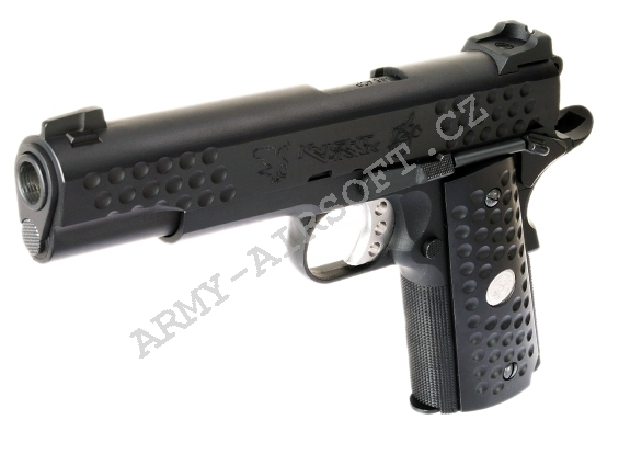 KAC 1911 Knight Hawk - celokov, blowback - WE