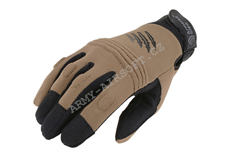 Taktické rukavice CovertPro® Tan - Armored Claw
