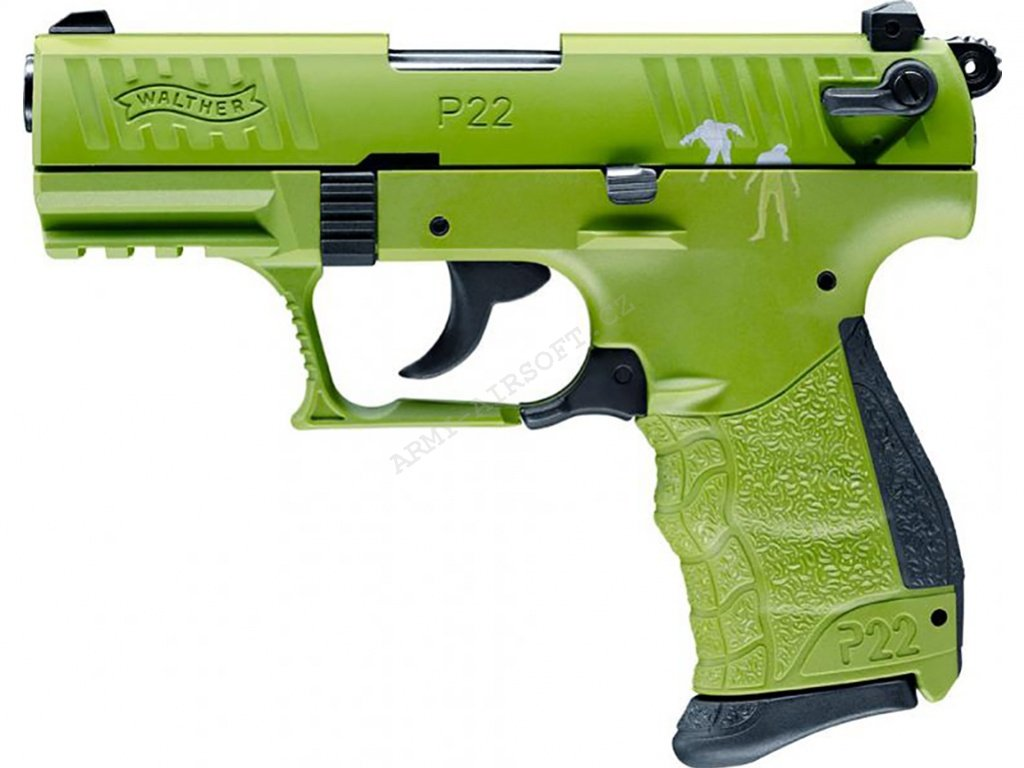 Plynová pistole Walther P22Q Zombster cal.9mm