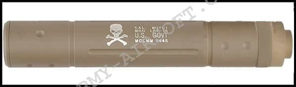 Tlumič 195 x 32 mm U.S. GOVT - TAN - ACM