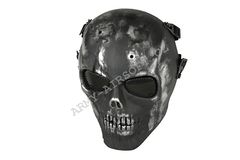 Maska Mortus V3 full mask - silver