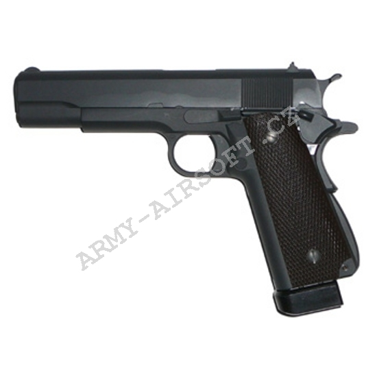 M1911 A1 - CO2, blowback, celokov, dvouřadý zásobnik - WE