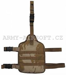 Sumka GB Desert Molle stehenní panel, ARMY GOODS | Army Airsoft