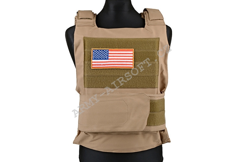 Taktická vesta PT Tactical Body Armor - COYOTE - ACM