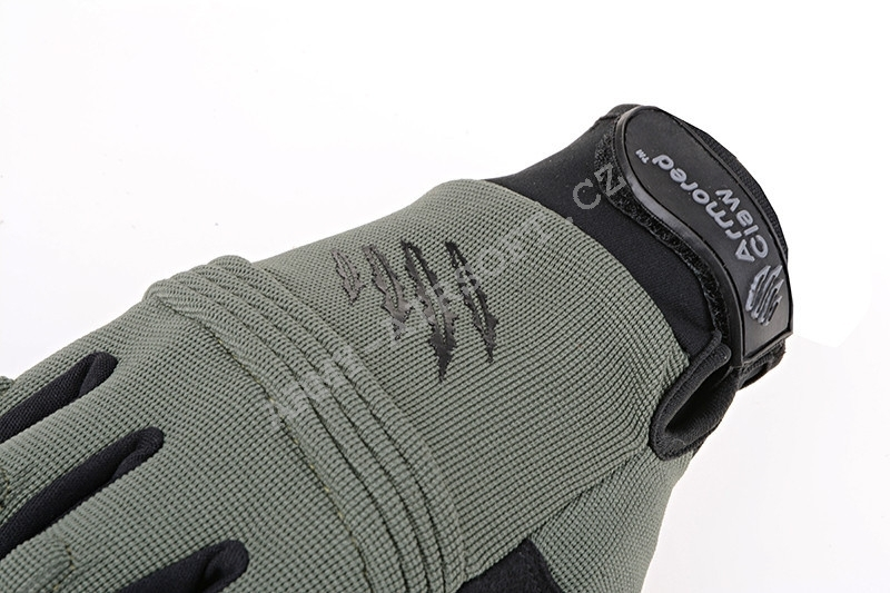 Taktické rukavice CovertPro® Sage Green - Armored Claw