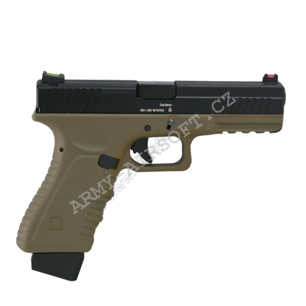Action Combat 601, blowback, CO2 (ACP601) - DE