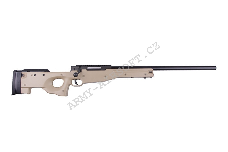 Airsoft Sniper L96  (MB-01) TAN + upgrade AirsoftPro - Well