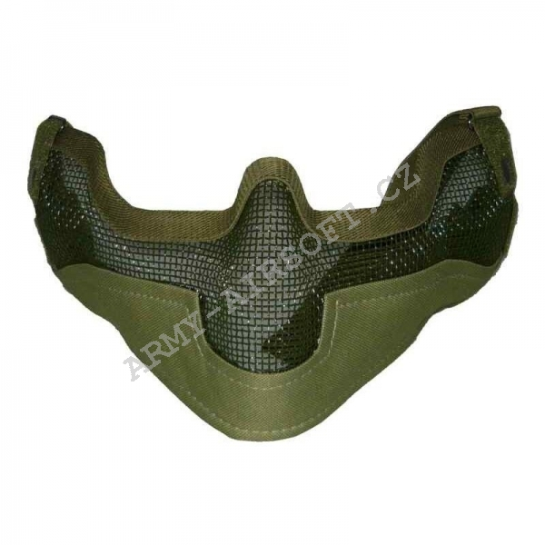 Mřížkový Face protector - Olive - Ultimate Tactical