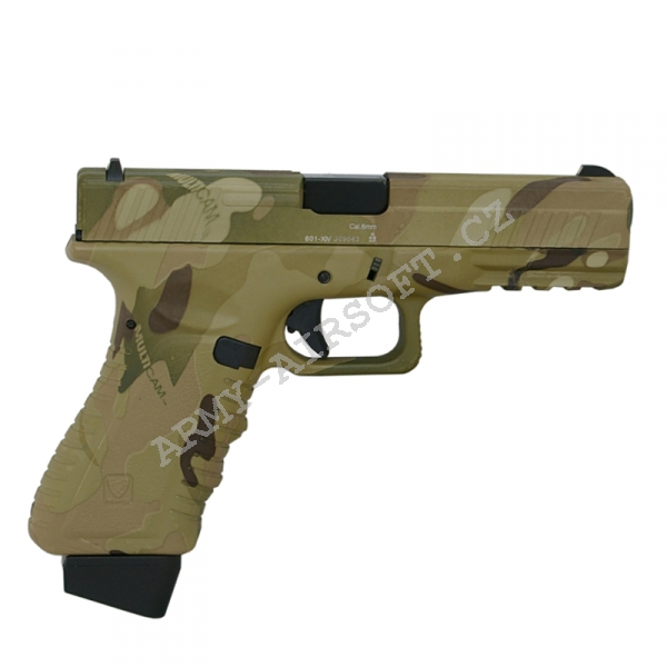 Action Combat 601, blowback, CO2 (ACP601) - Multi-Cam