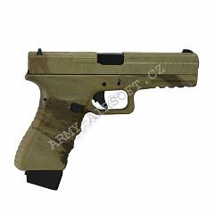 Action Combat 601, blowback, CO2 (ACP601) - ATACS AU | Army Airsoft
