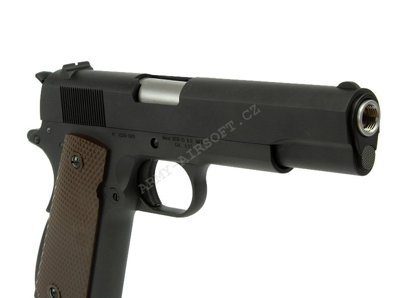 M1911 A1 GEN. 3 - plyn, blowback, celokov - WE