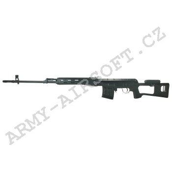 Airsoft Sniper Dragunov SVD Black CA