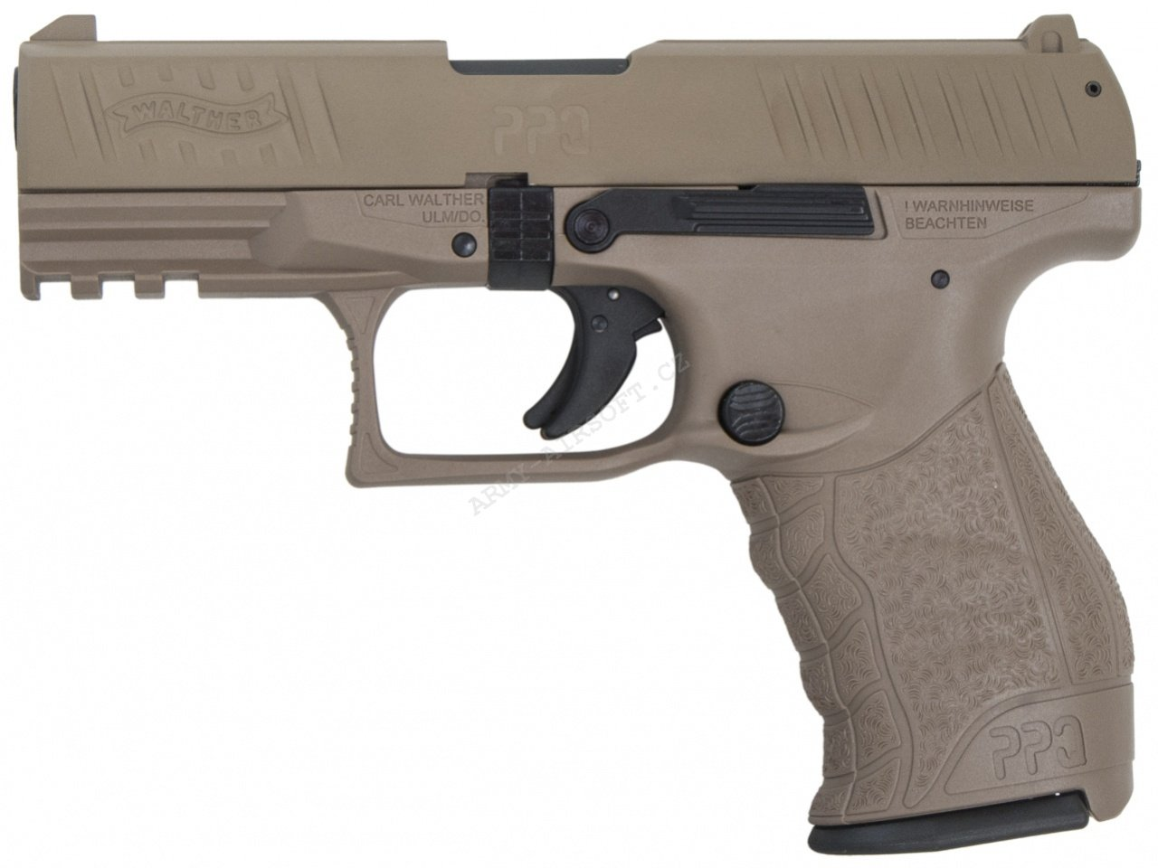 Plynová pistole Walther PPQ M2 FDE cal.9mm