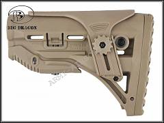 Pažba GL-Shock M4 TAN - Big Dragon | Army Airsoft