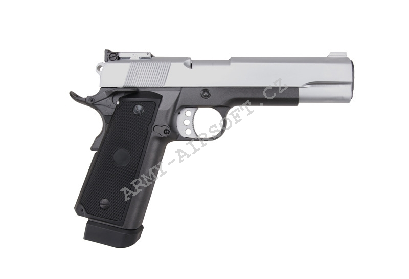 Colt 1911A CO2+Green Gas celokov - WELL