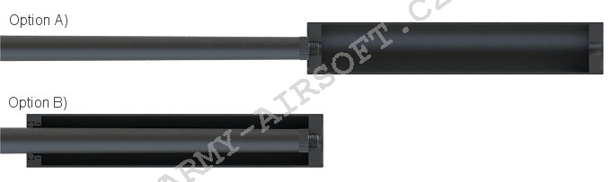 Tlumič VIPER Sound Tech 310x55mm - AirsoftPro
