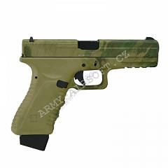 Action Combat 601, blowback, CO2 (ACP601) - ATACS FG | Army Airsoft