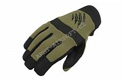 Taktické rukavice Shooter Olive - Armored Claw | Army Airsoft