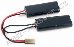 Akumulátor 9,6V 2200mAh Ni-MH - PEQ2,M4A1 - VB Power | Army Airsoft
