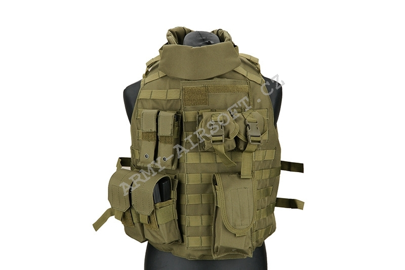 Taktická vesta Interceptor Body Armour - Olive - ACM