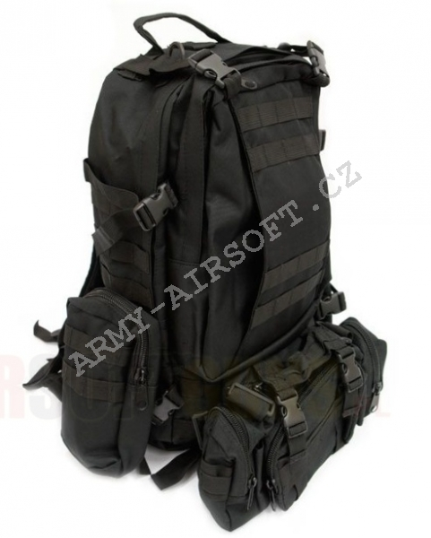 Batoh 3L-Day Assault Pack - Black - ACM