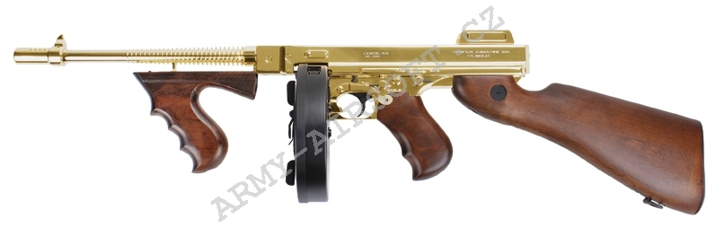 Thompson M1928 KA CYBG Gold