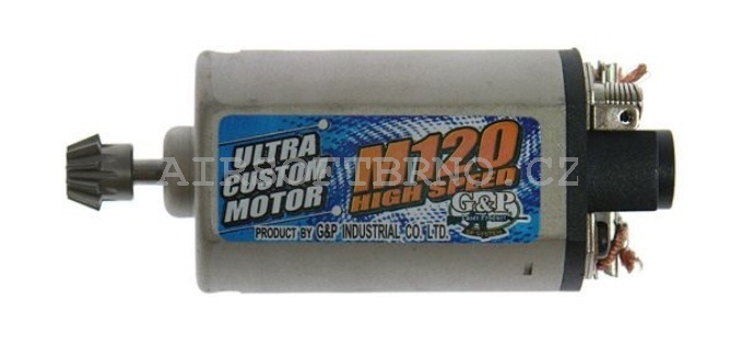M120 High Speed motor