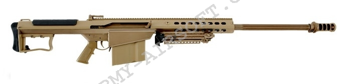 Airsoft Sniper M107 A1 BARRETT - TAN - Snow Wolf