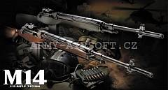 Colt M14 Wood Stock TM | Army Airsoft