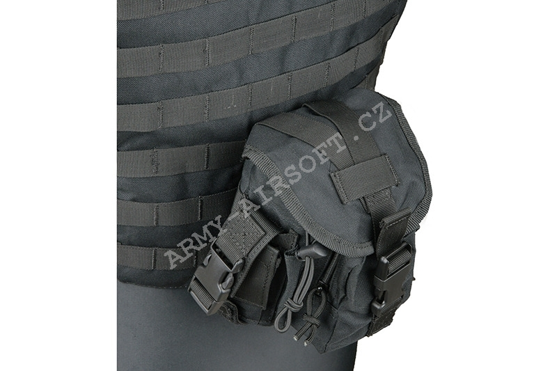 Taktická vesta Interceptor Body Armour - Black - ACM