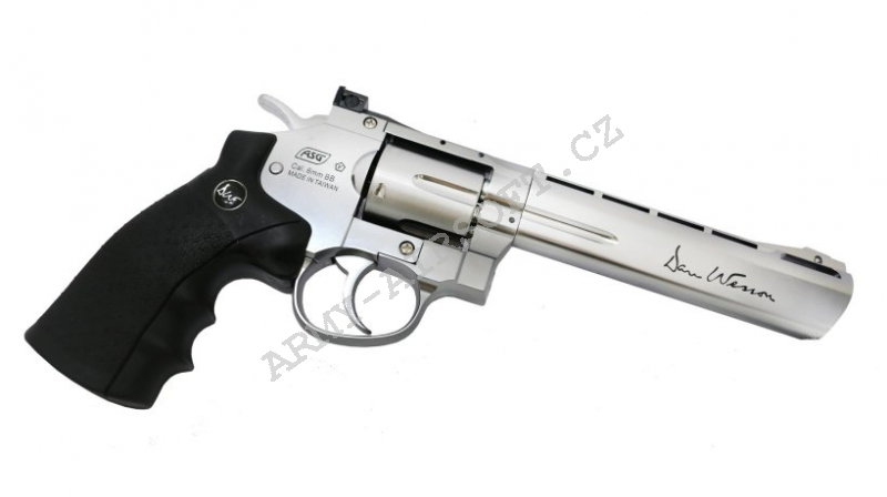 ASG Dan Wesson 6'' CO2 Stainless
