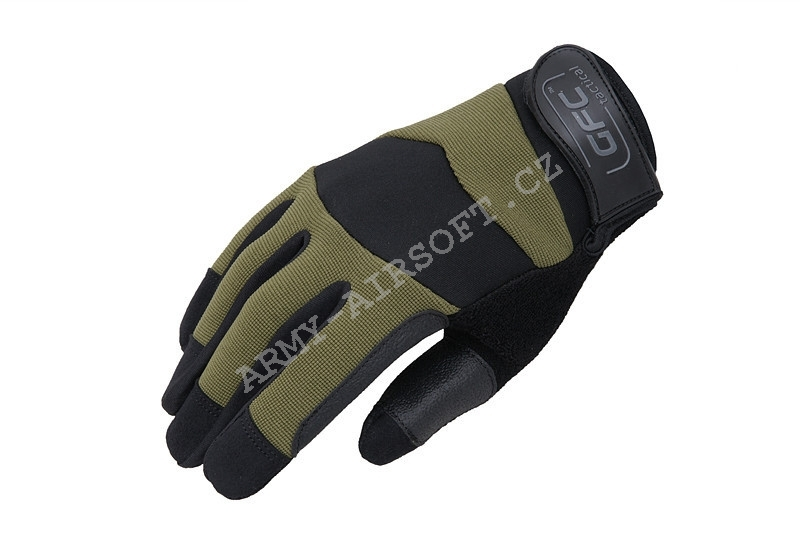 Taktické rukavice HDR Accuracy Olive - GFC