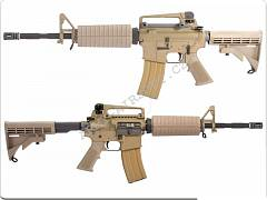 Colt M4A1 - celokov, upgrade, HighSpeed - 135 m/s - TAN [AimTop] | Army Airsoft