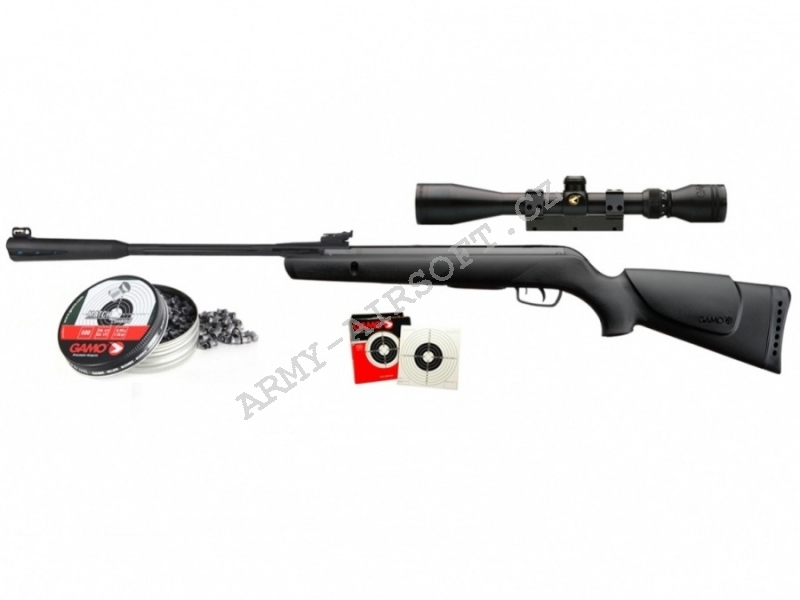 Vzduchovka Quiet Cat SET cal.4,5mm - Gamo