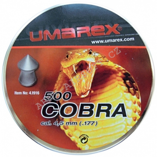 Diabolky Umarex Cobra cal.4,5mm, 500ks
