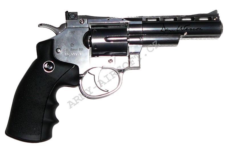 Dan Wesson 4'' CO2 Stainless ASG