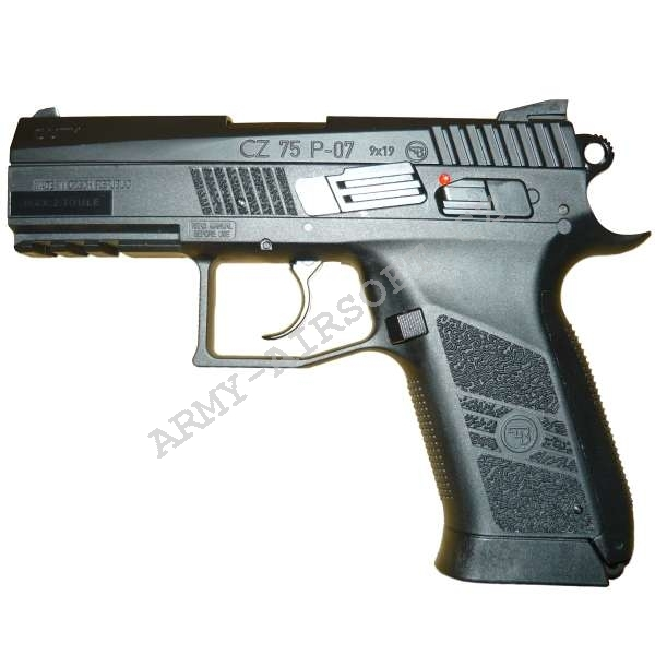 CZ 75 P-07 DUTY S. CO2 blow back ASG