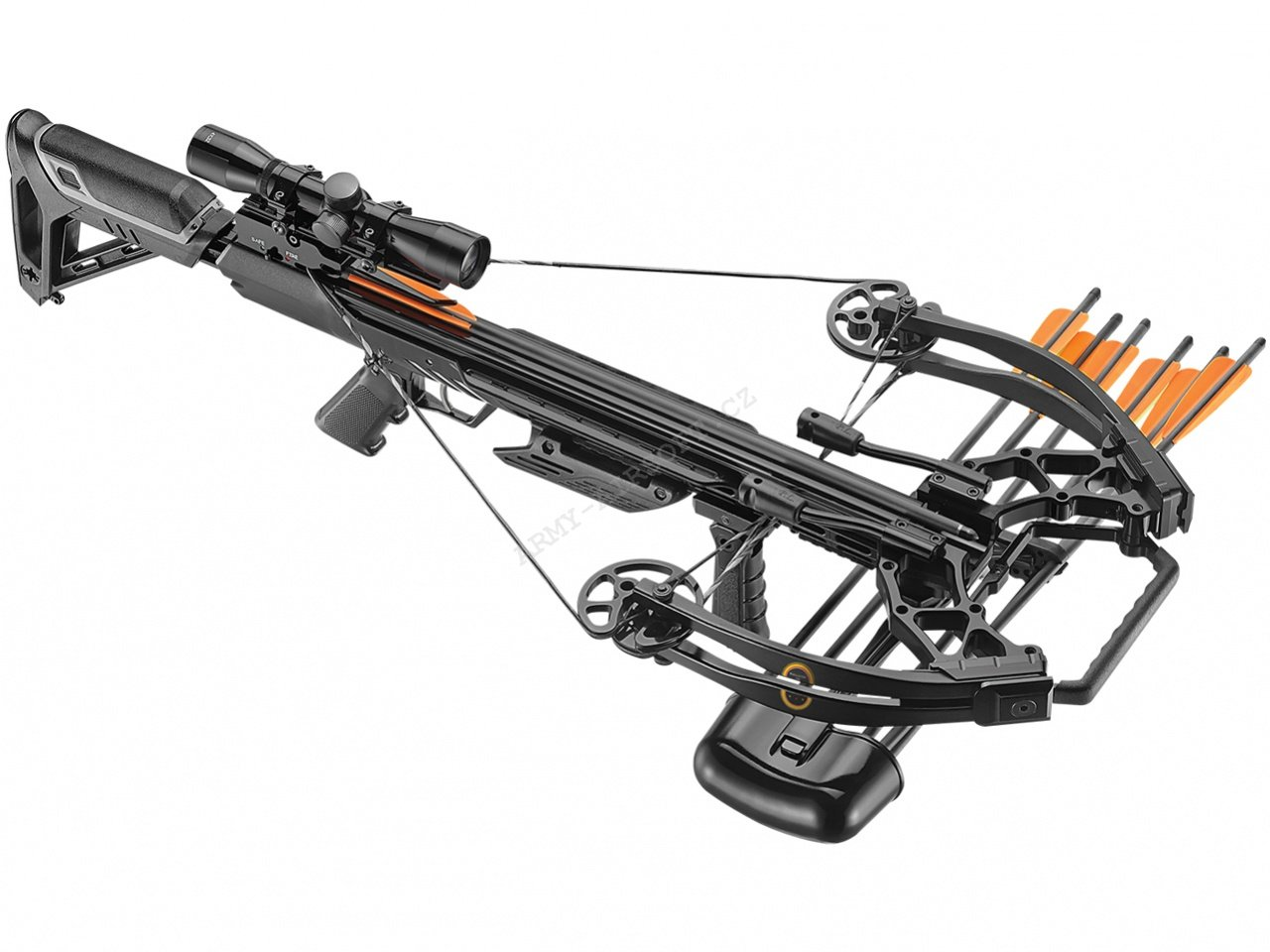 Kuše Beast Hunter Accelerator 410+ 185lb black - Beast Hunter