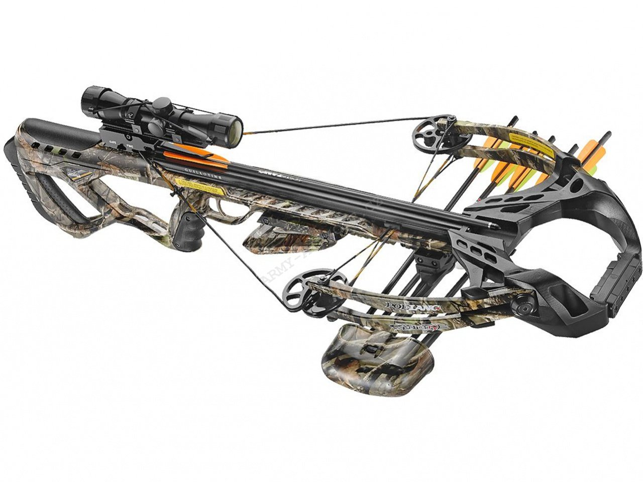 Kuše Beast Hunter Guillotine X 185lb camo - Beast Hunter